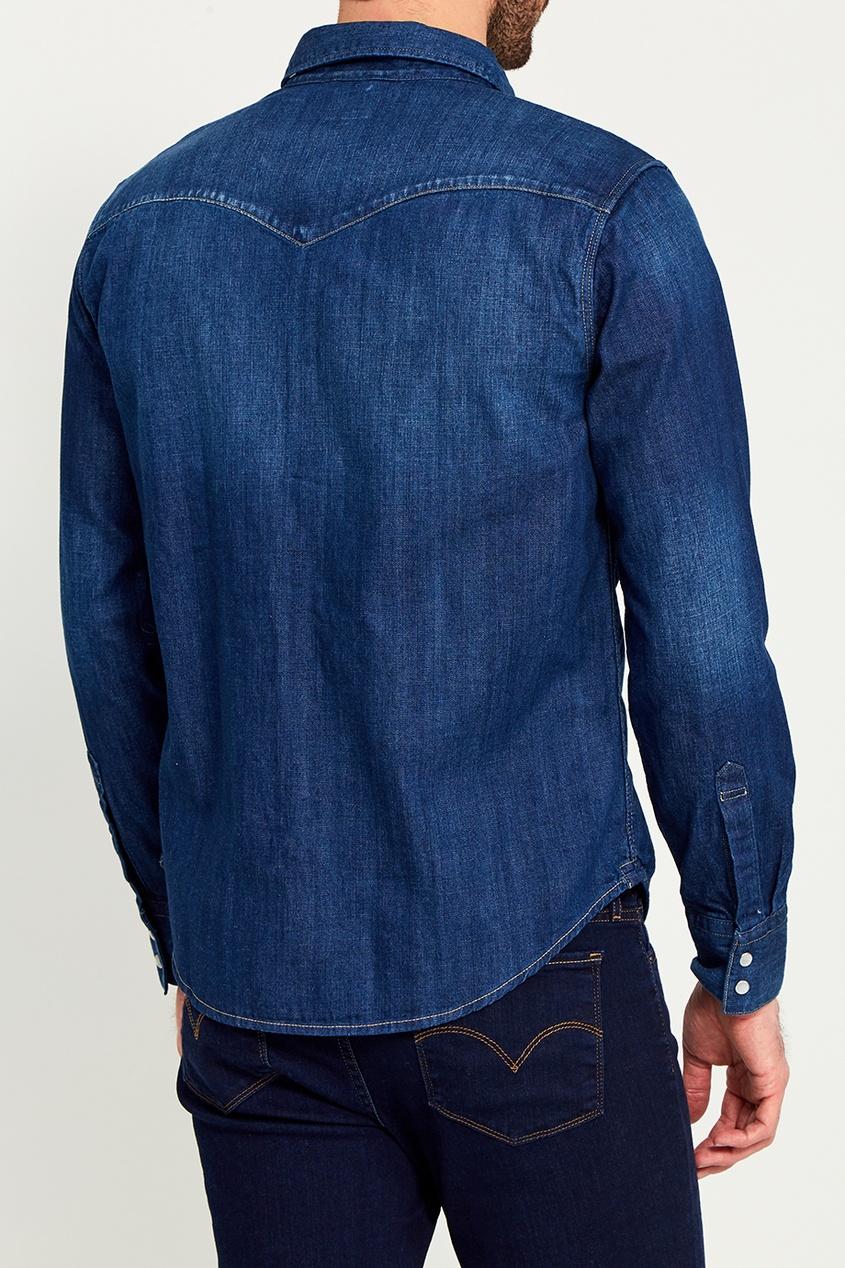 Levi`s Синяя джинсовая рубашка levi's® 0451122130