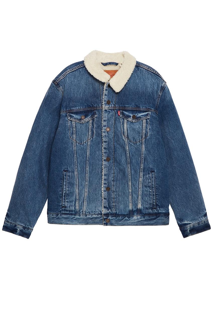 Levi's® Куртка из денима на меховой подкладке TYPE 3 SHERPA TRUCKER