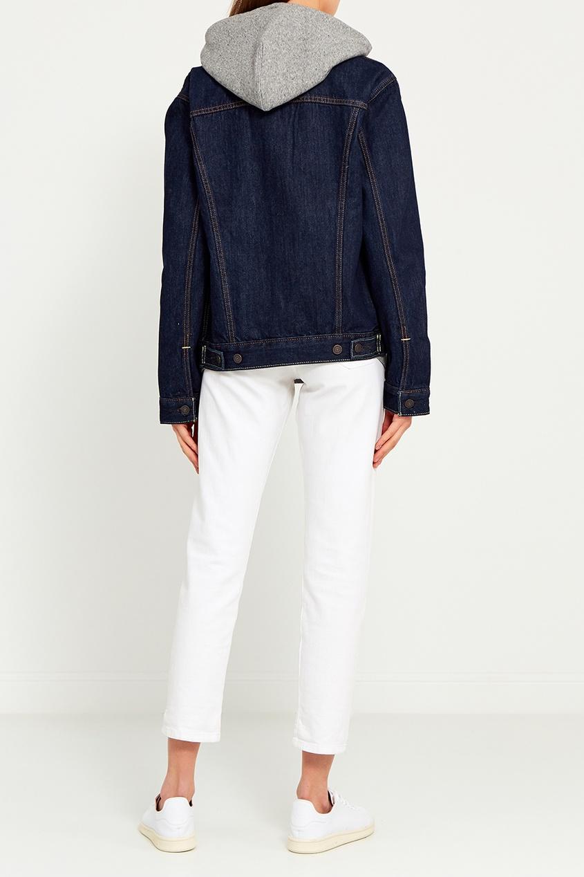 Levi's® Синяя джинсовая куртка THE TRUCKER JACKET парка levi's® 2767300010