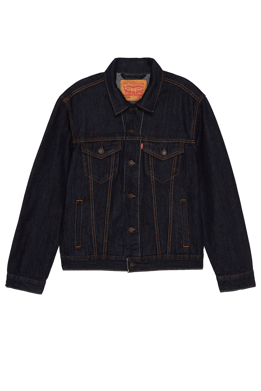 Levi's® Синяя джинсовая куртка THE TRUCKER JACKET