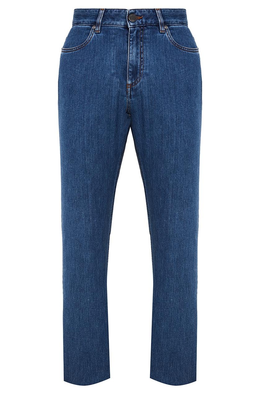 ERMENEGILDO ZEGNA Синие прямые джинсы strellson поло strellson 51741 голубой