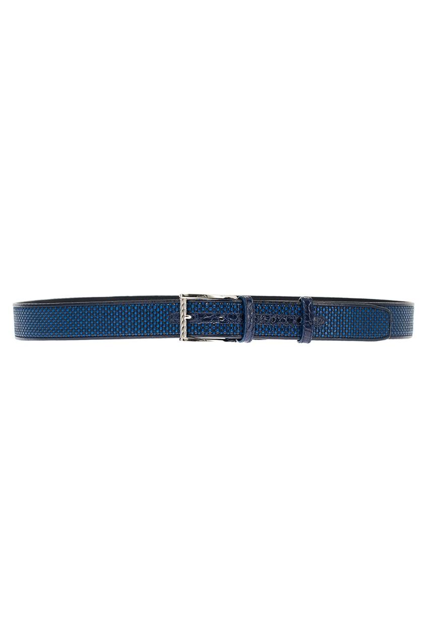 мужской ремень artioli, синий