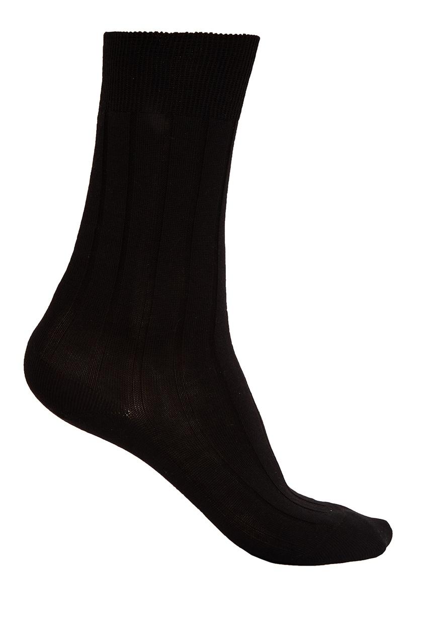 Artioli Черные носки из хлопка колготки носки гетры babyono носки из хлопка антискользящие smile 0 1 пара