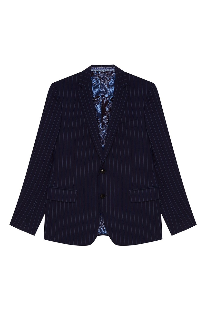 Etro Синий шерстяной костюм-двойка костюм двойка js collections костюм двойка
