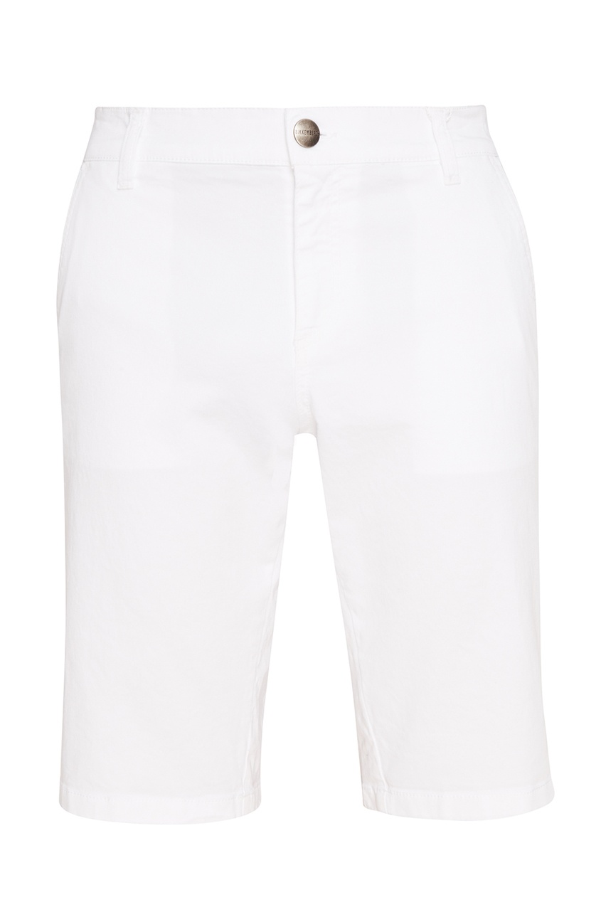 Dirk Bikkembergs Белые шорты из хлопка шорты bikkembergs c q 18b fd s b106 033b