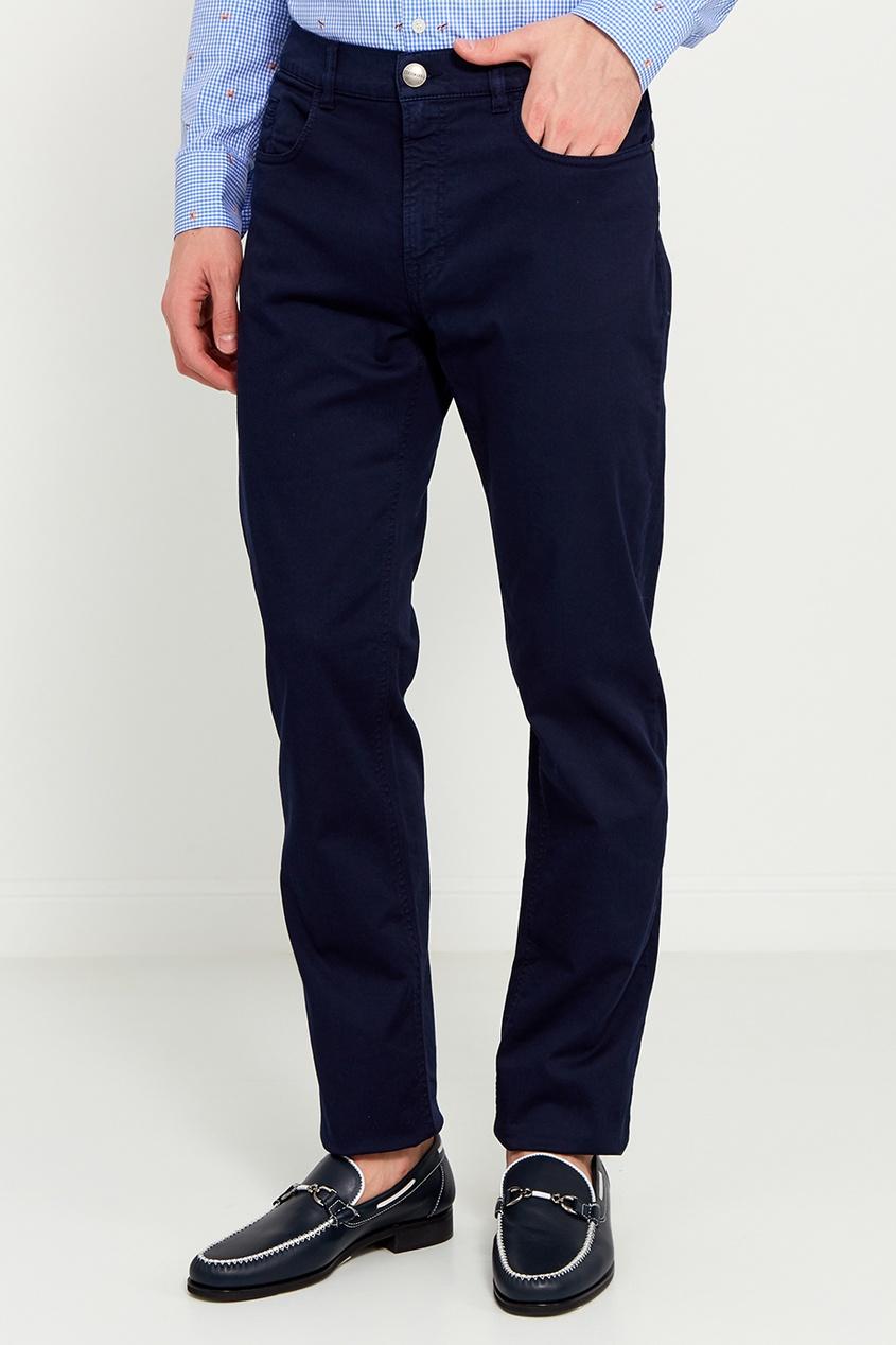 Dirk Bikkembergs Темно-синие прямые джинсы джинсы bikkembergs джинсы