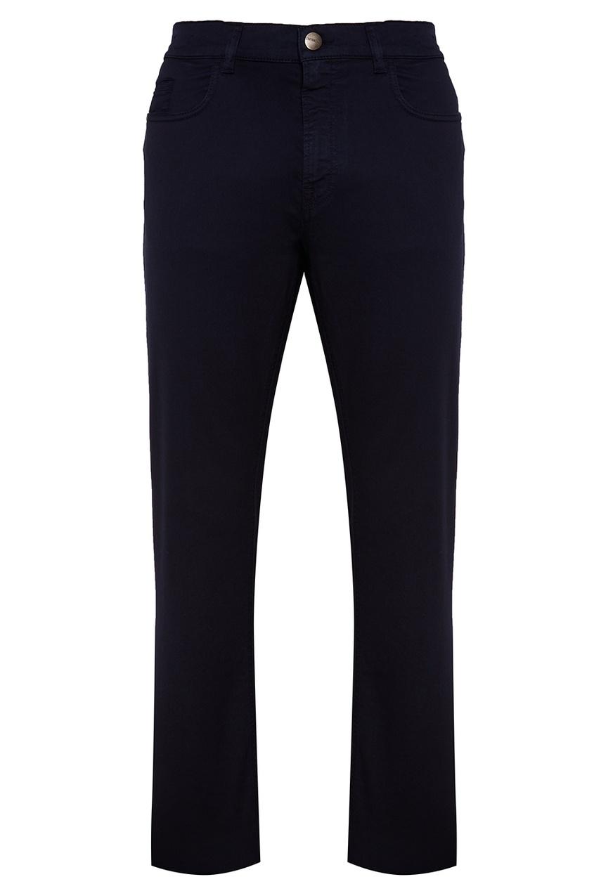 Dirk Bikkembergs Темно-синие прямые джинсы
