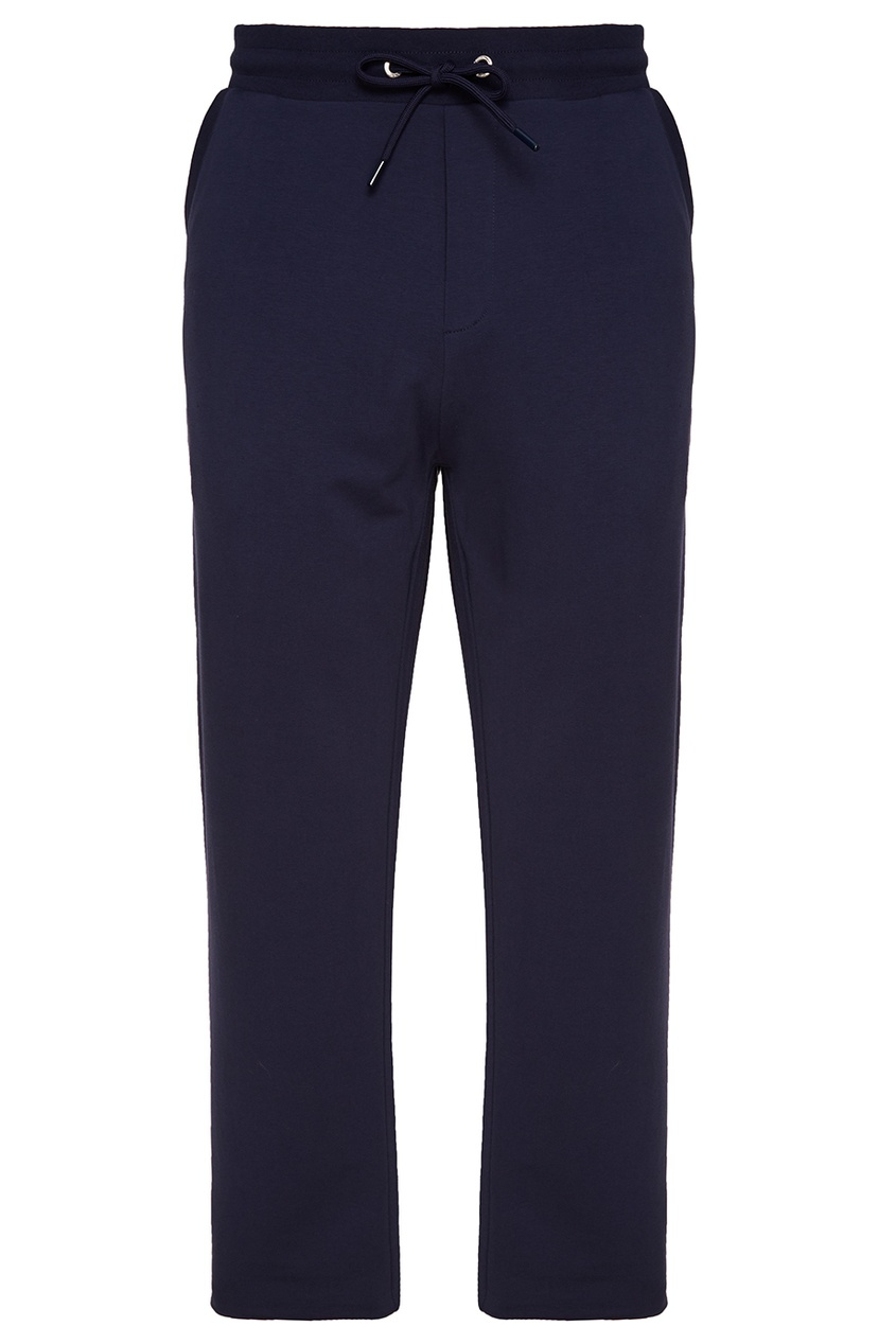 Dirk Bikkembergs Синие трикотажные брюки strellson поло strellson 51741 голубой