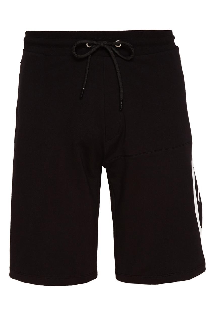 мужские шорты dirk bikkembergs, черные