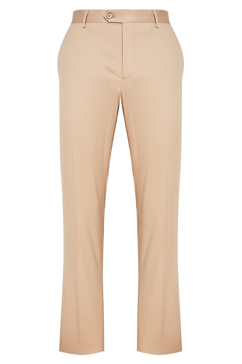 Etro Хлопковые брюки бежевого цвета свитшот dsquared2 цвет серый