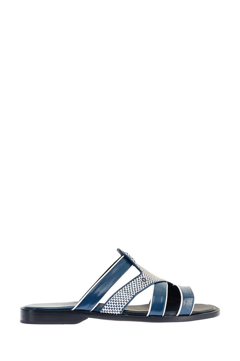 Синие комбинированные сандалии Artioli 167473386 Multicolor фото