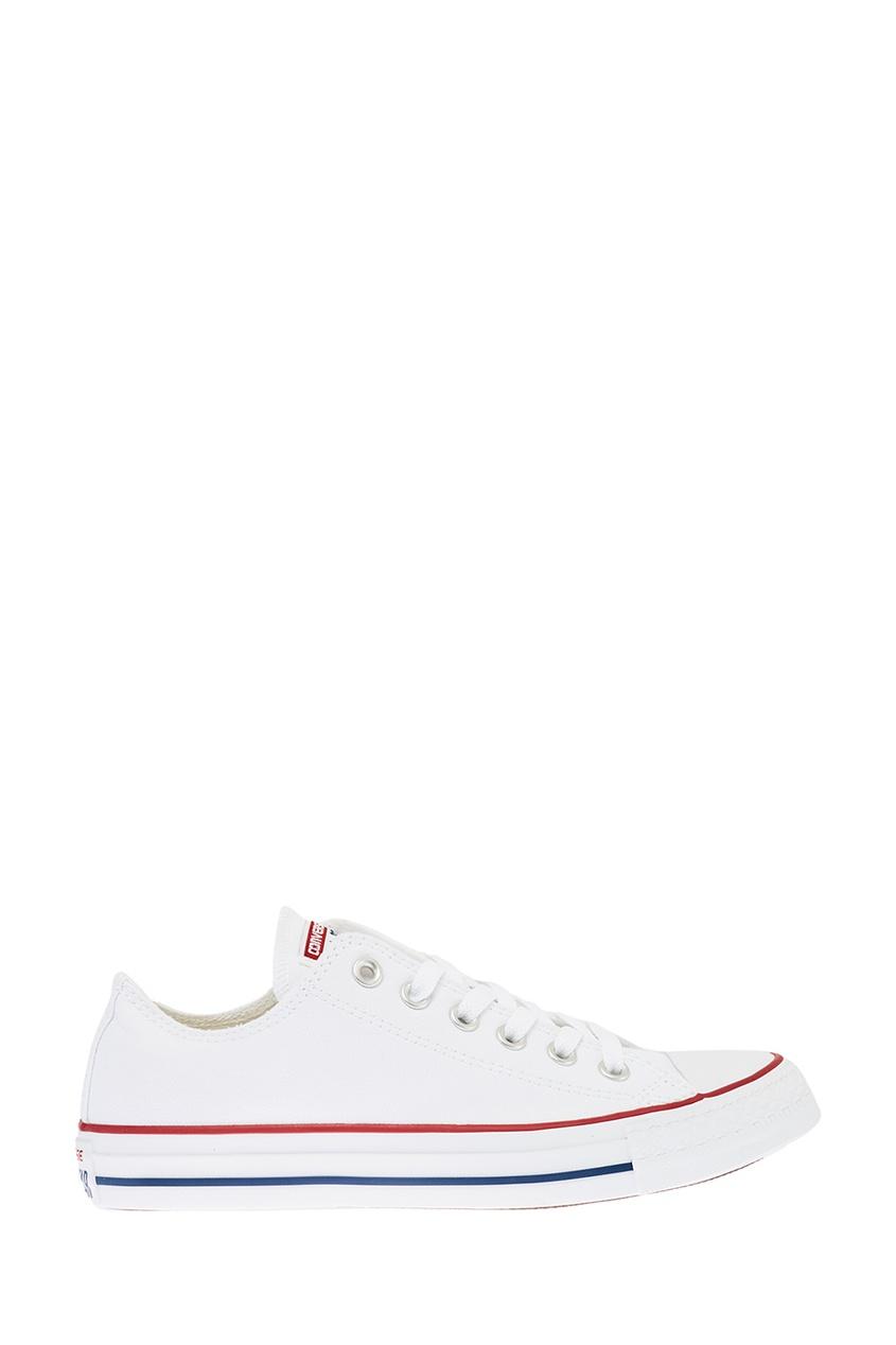 Белые текстильные кеды от Converse