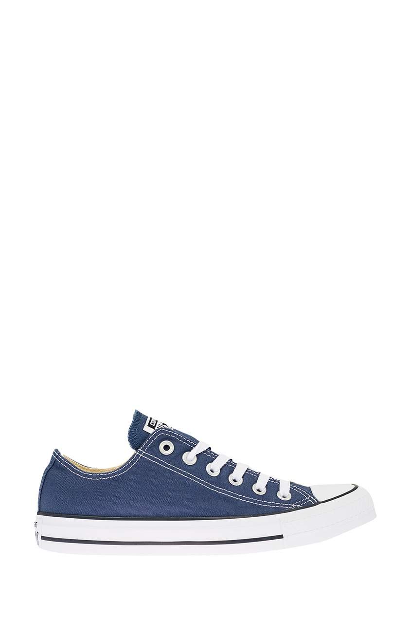 Синие кеды из текстиля от Converse