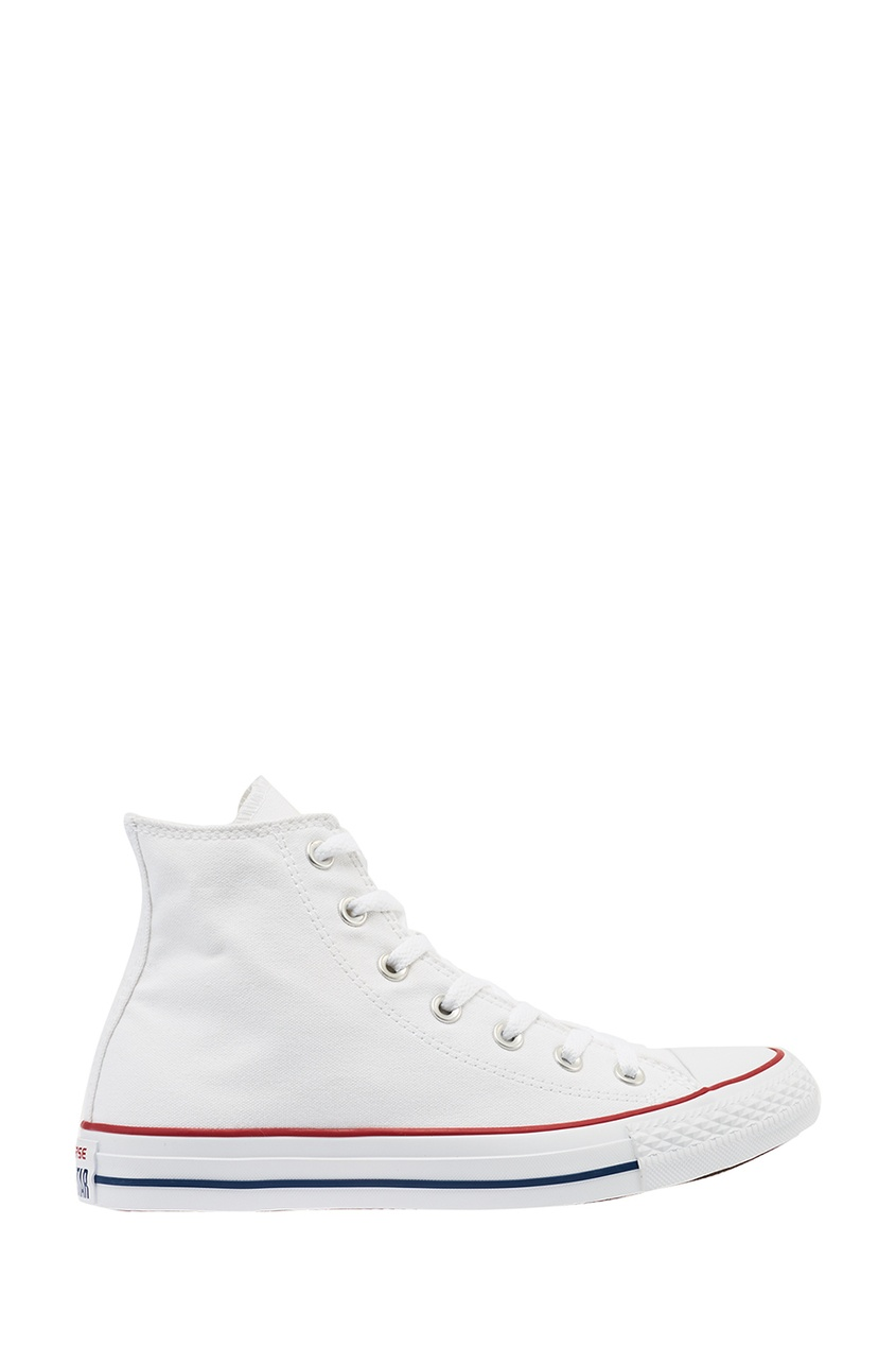 Converse Высокие белые кеды из текстиля
