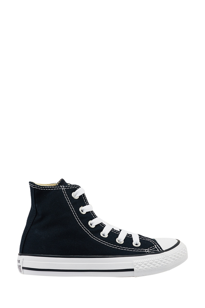 Converse Высокие черные кеды из текстиля