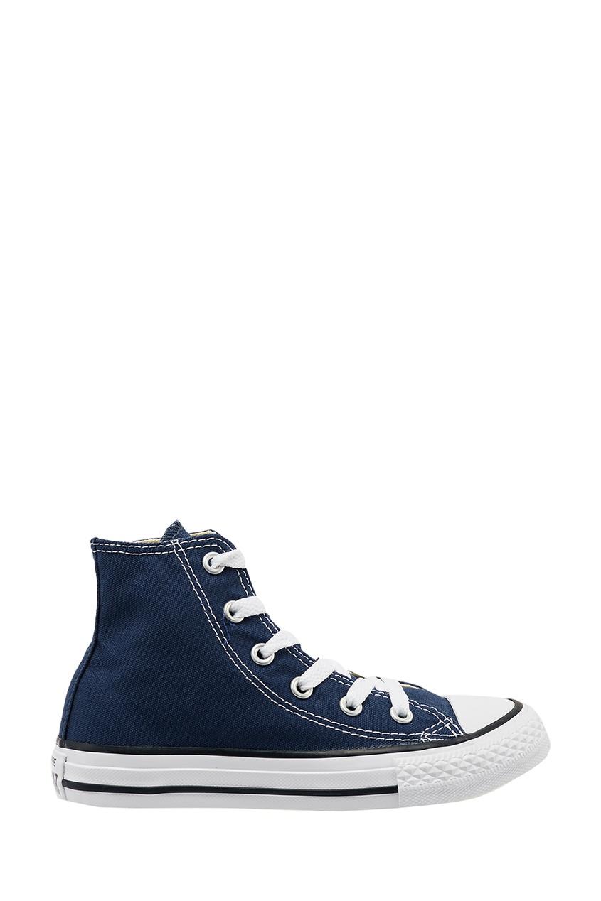 Converse Высокие синие кеды из текстиля