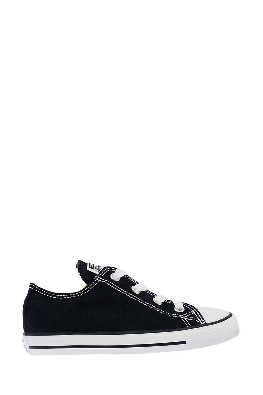 Converse Черные кеды из текстиля