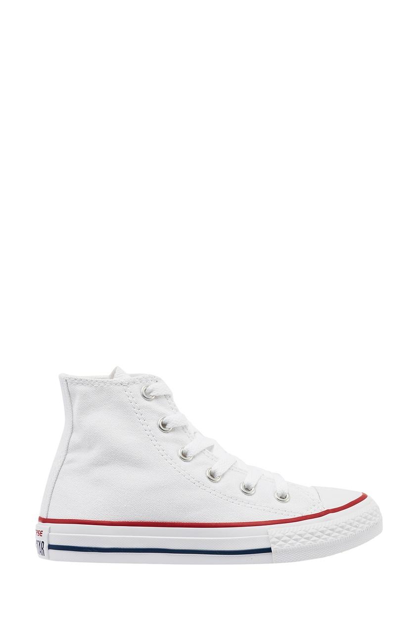 Converse Белые кеды с высоким верхом