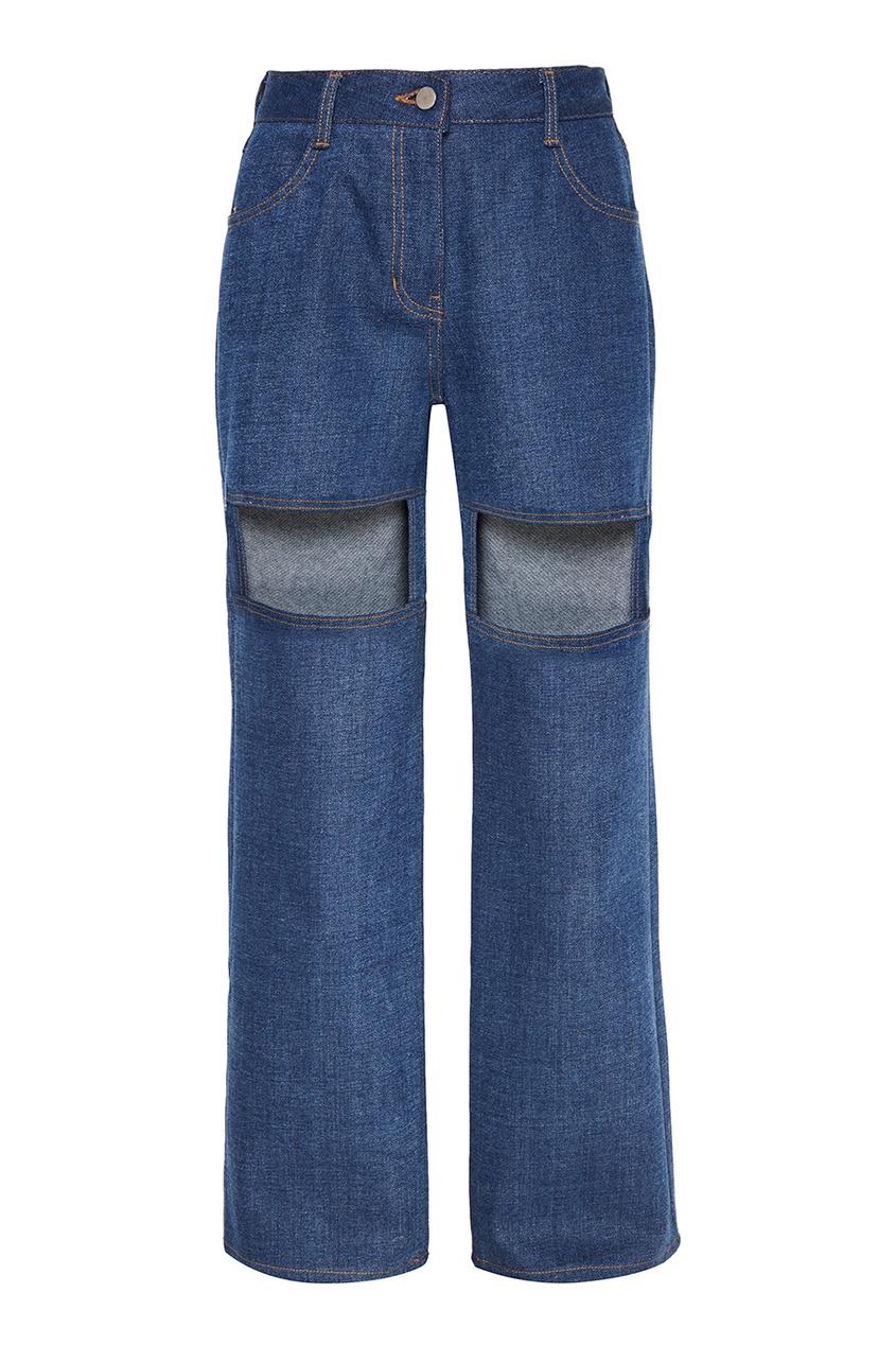 Rocket X Lunch Широкие джинсы с прорезями rocket racers