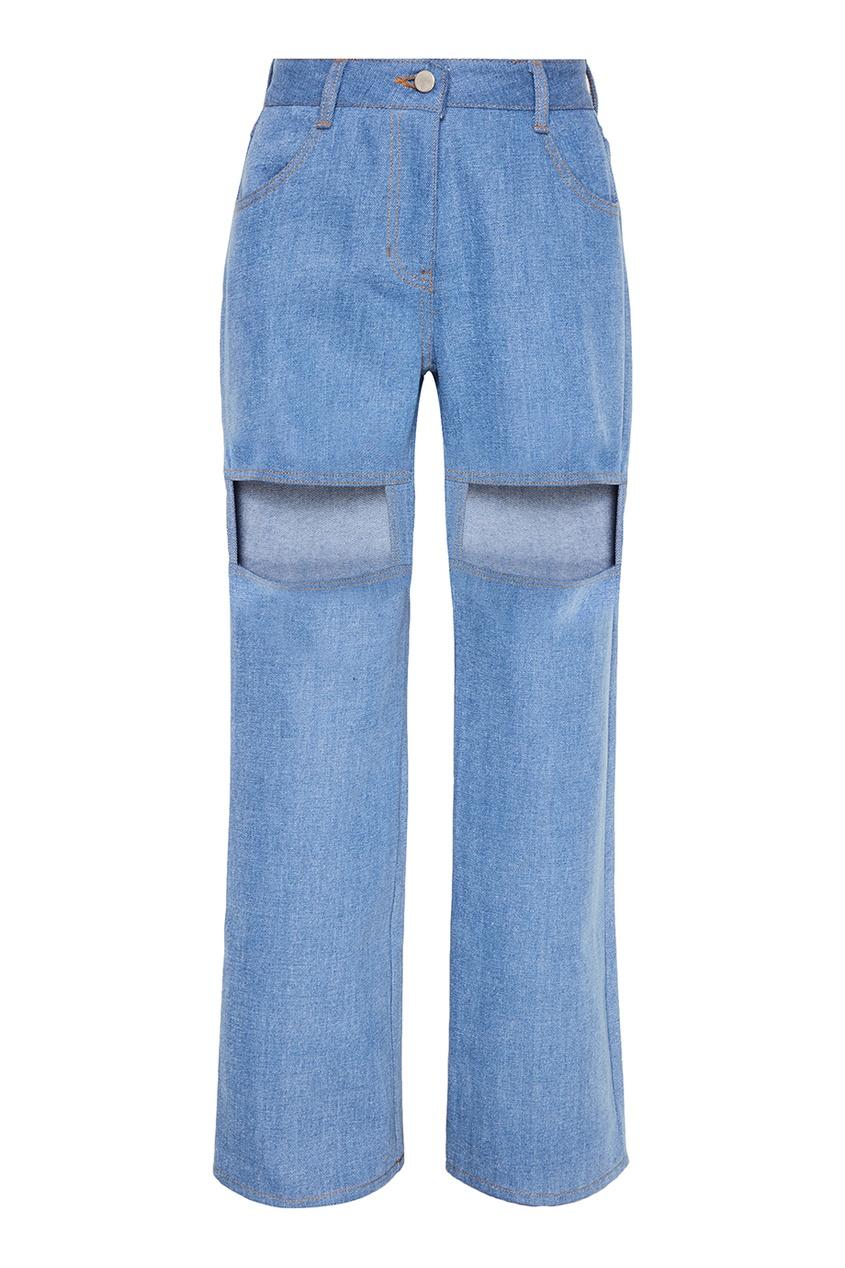 Фото - Rocket X Lunch Голубые джинсы с прорезями пенал dakine lunch box 5 l augusta