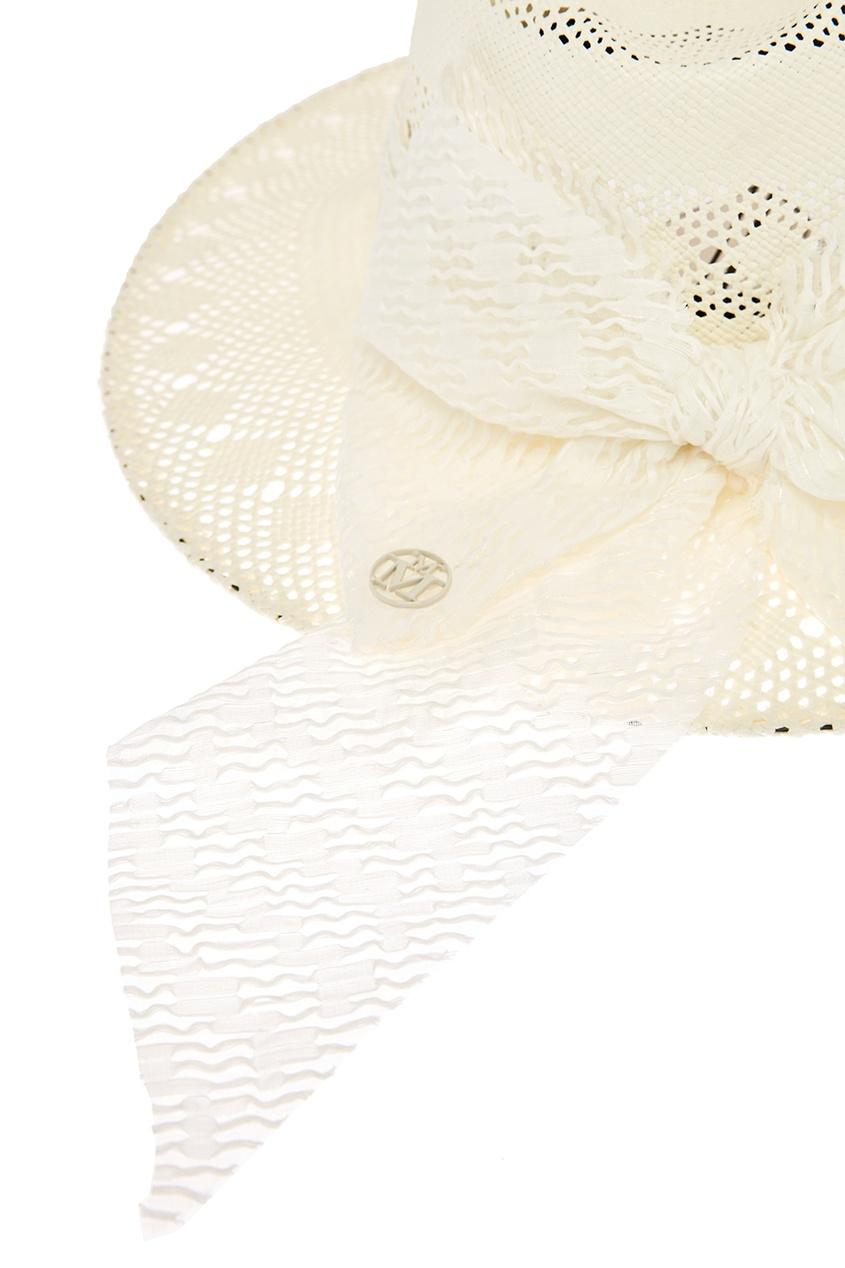 Белая соломенная шляпа Henrietta