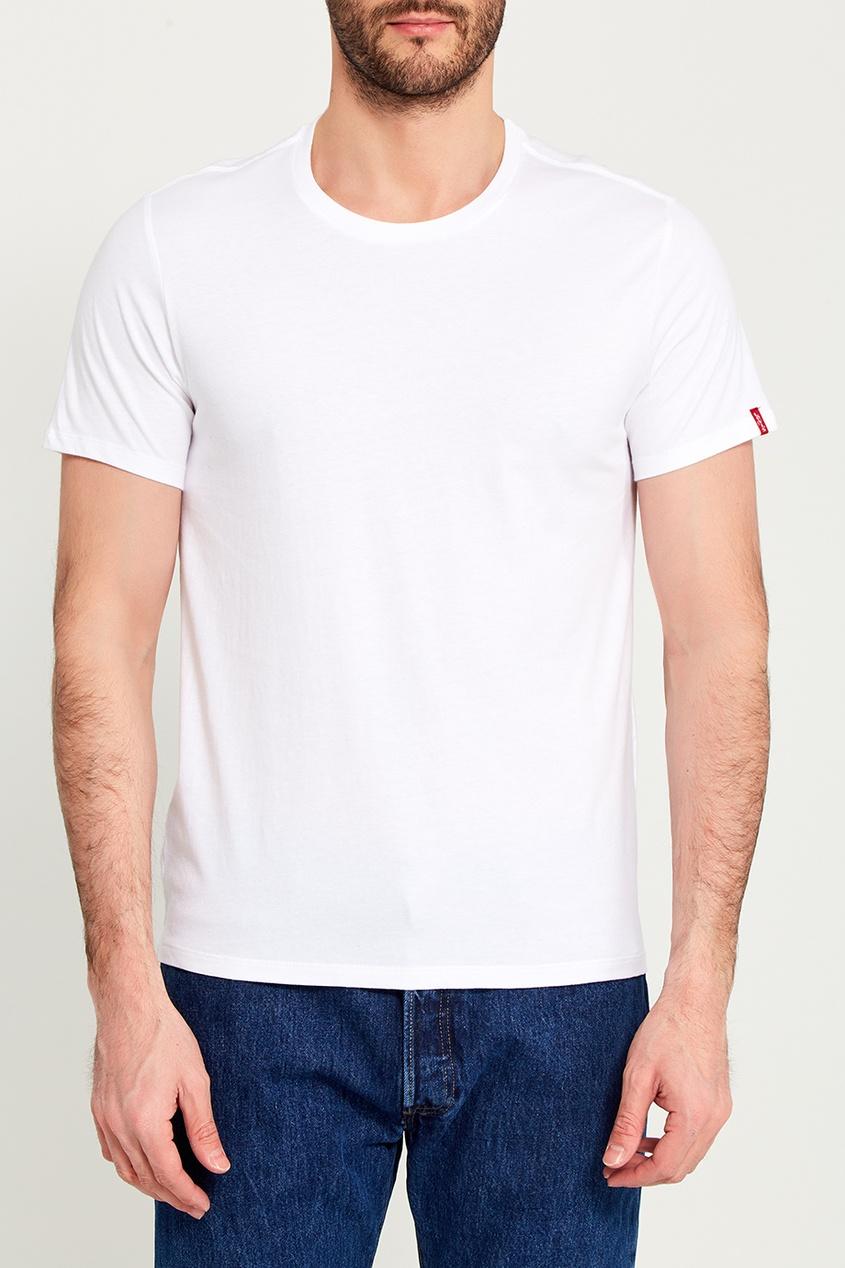 Levi's® Набор из двух белых футболок SLIM 2 PACK CREW TEE парка levi's® 2767300010