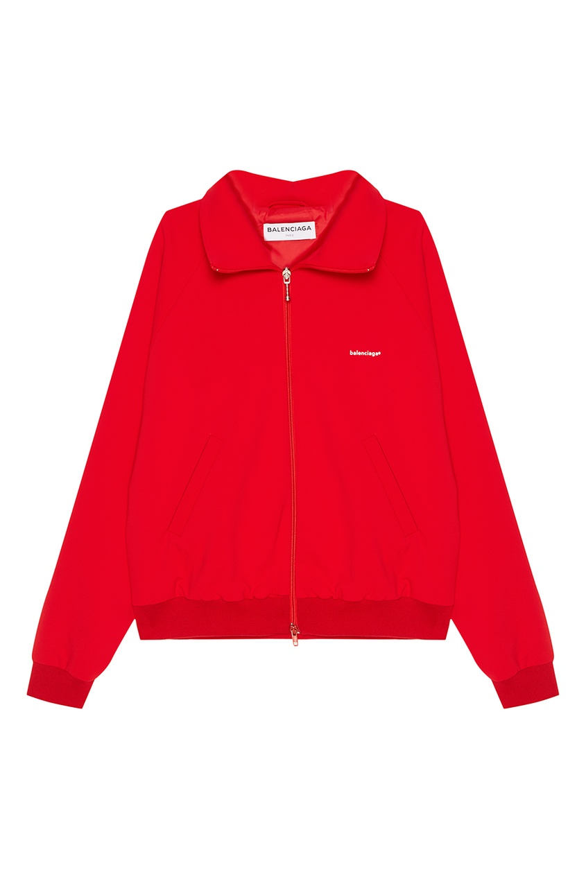 Balenciaga Красная олимпийка на молнии