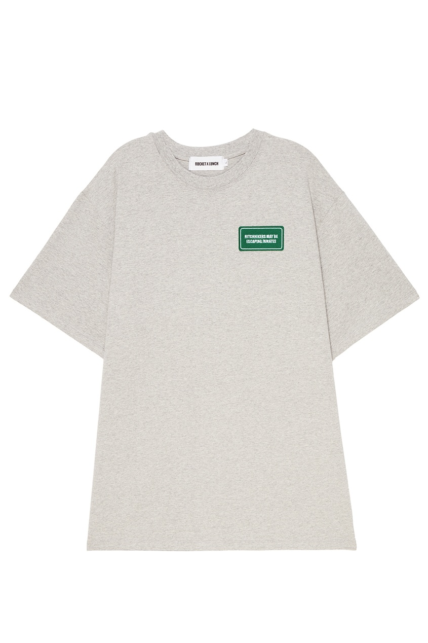 Rocket X Lunch Серая меланжевая футболка футболка 560 с короткими рукавами спортивная для малышей серая