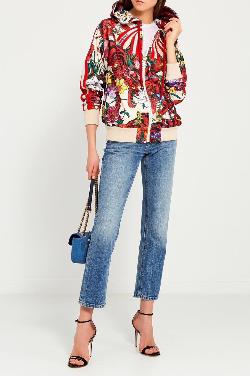 Gucci Джинсовая сумка с жемчужинами GG Marmont форма профессиональная для изготовления мыла мк восток выдумщики 688758 1