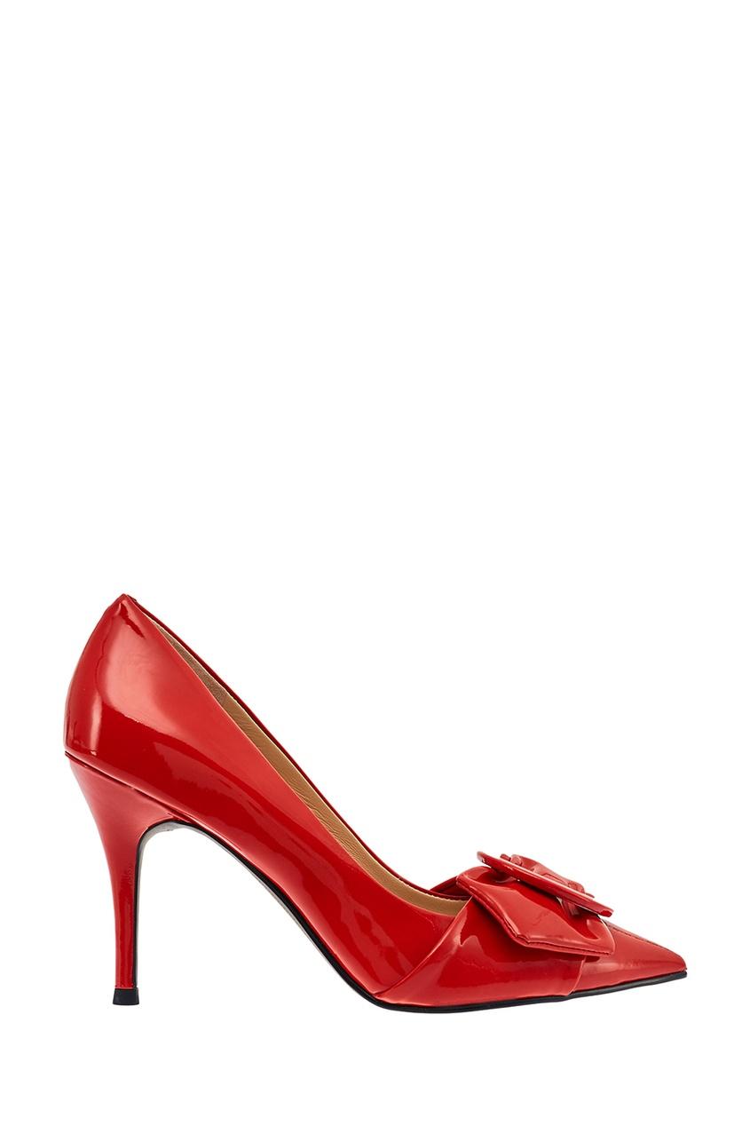 What For Красные лакированные туфли с пряжкой speardiver резиновый с пряжкой marseillese elastic