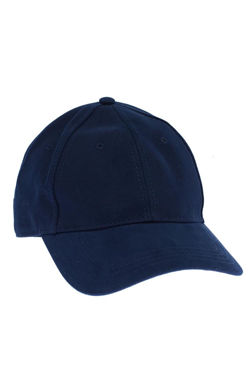 женская кепка moncler, синяя