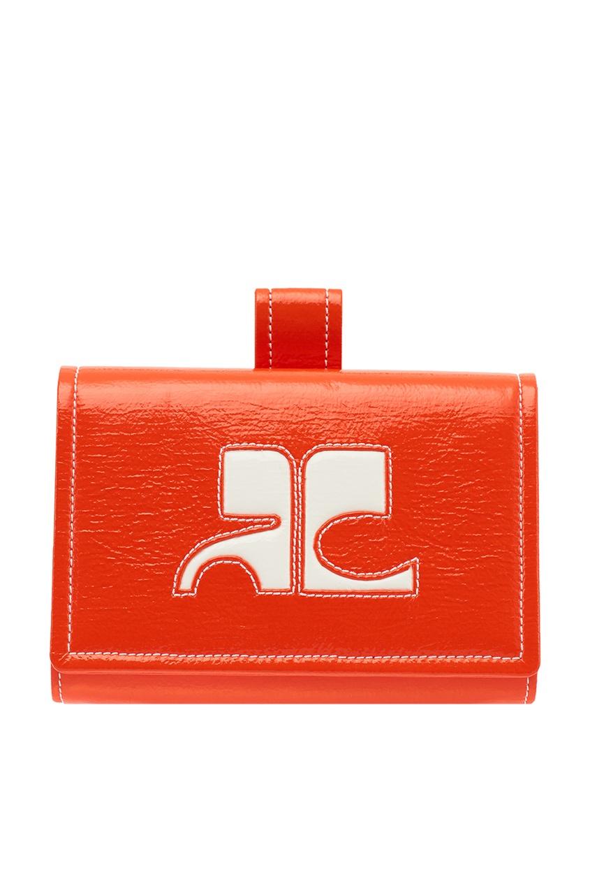 Courreges Красная поясная сумка с логотипом courreges головной убор