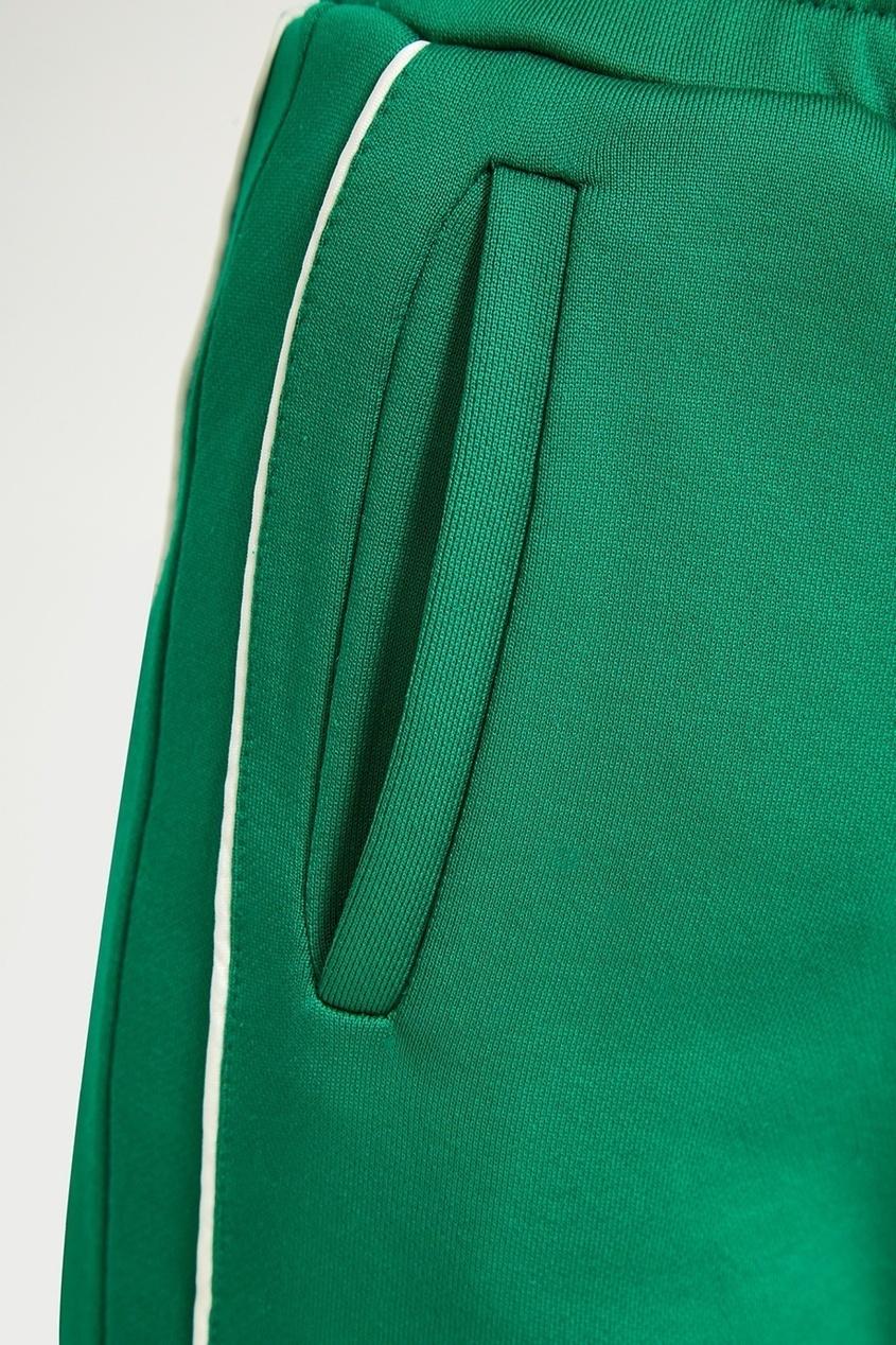 Red Valentino Зеленые спортивные брюки спортивные брюки puledro kids спортивные брюки