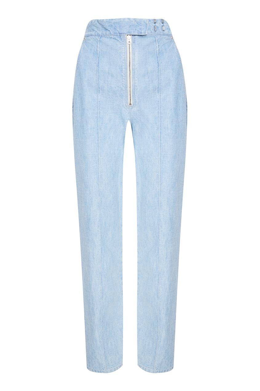 Isabel Marant Голубые вареные джинсы