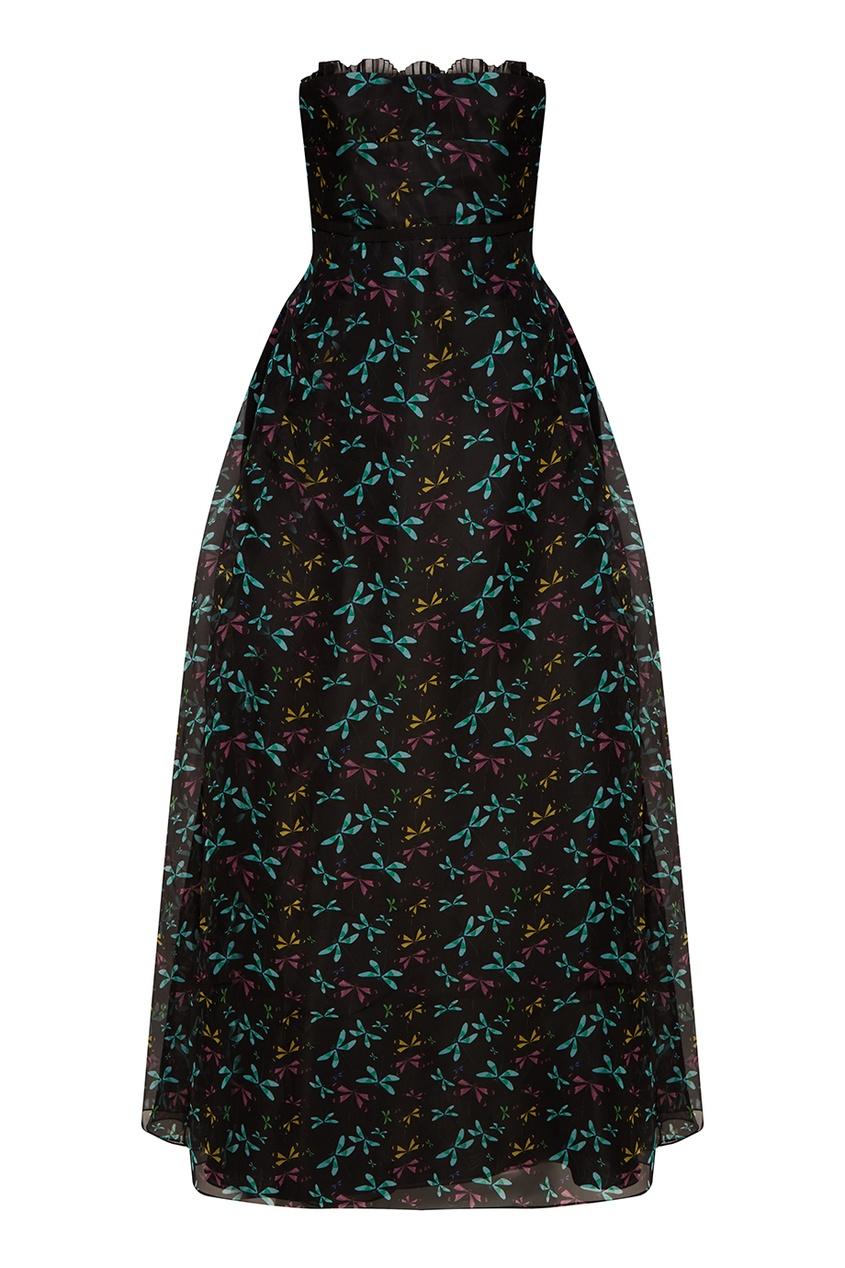 женское платье rochas, черное