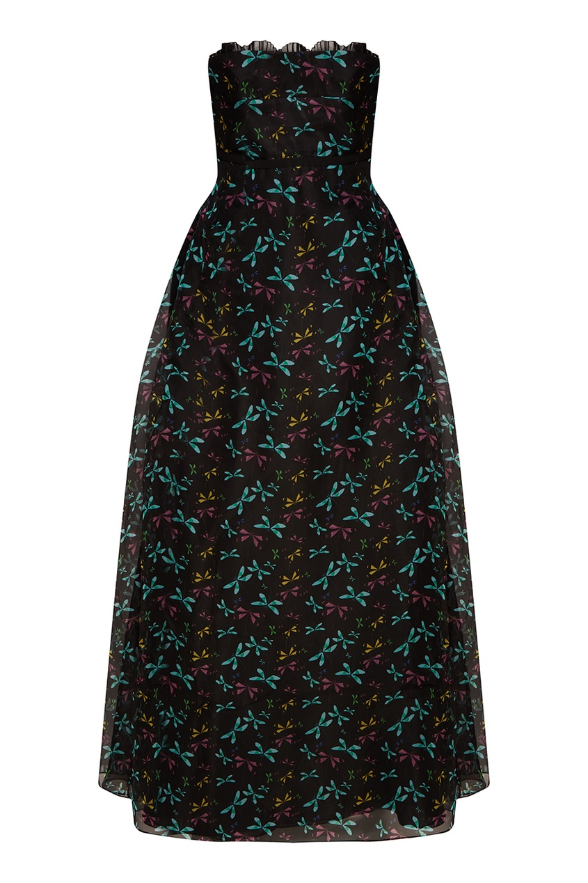 Rochas Платье-макси со стрекозами rochas пальто из шерсти и шелка