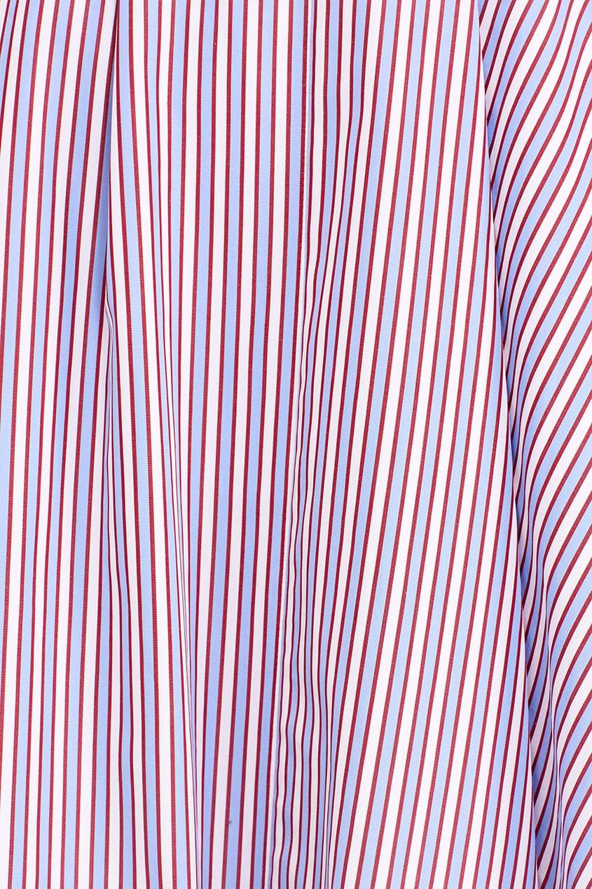 женская юбка rochas, голубая