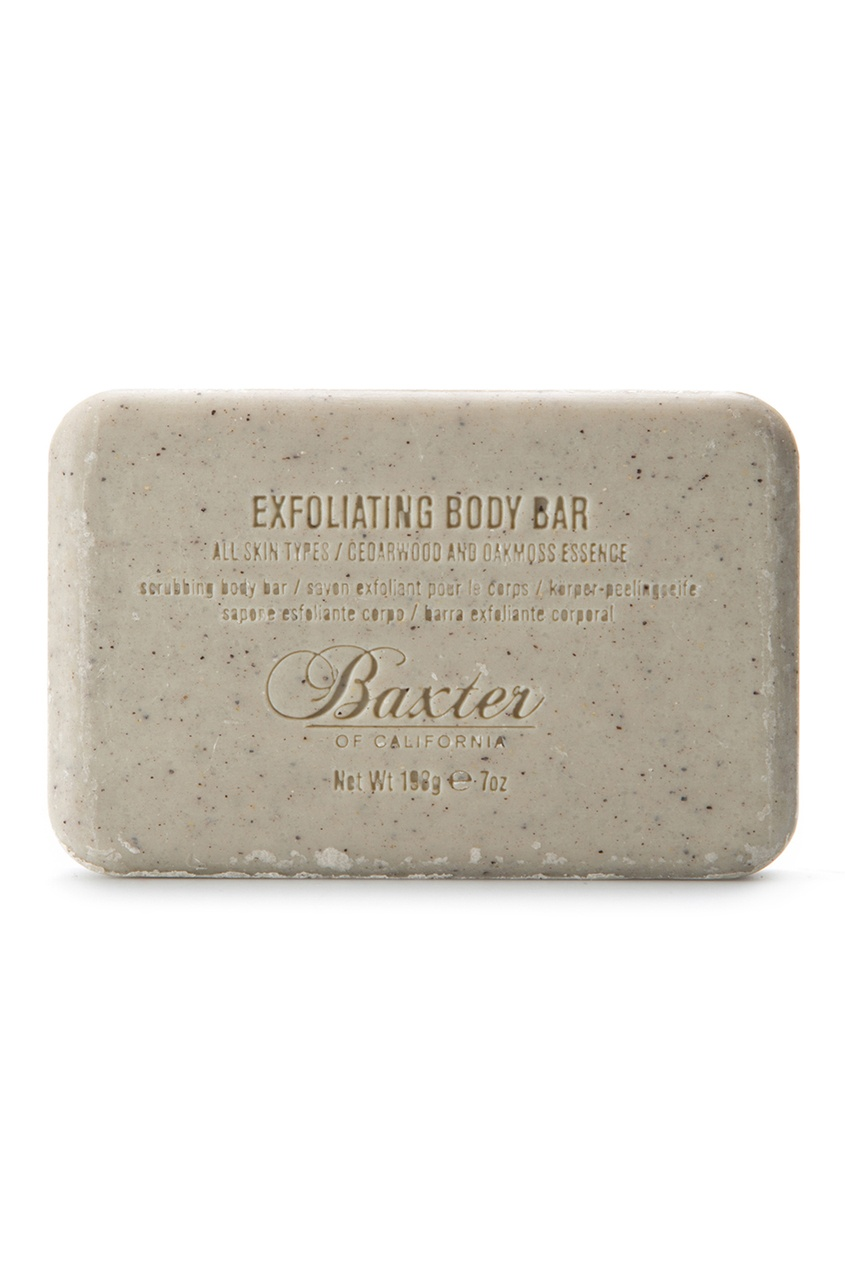 Baxter of California Мыло-скраб Exfoliating Body Bar, 198 g