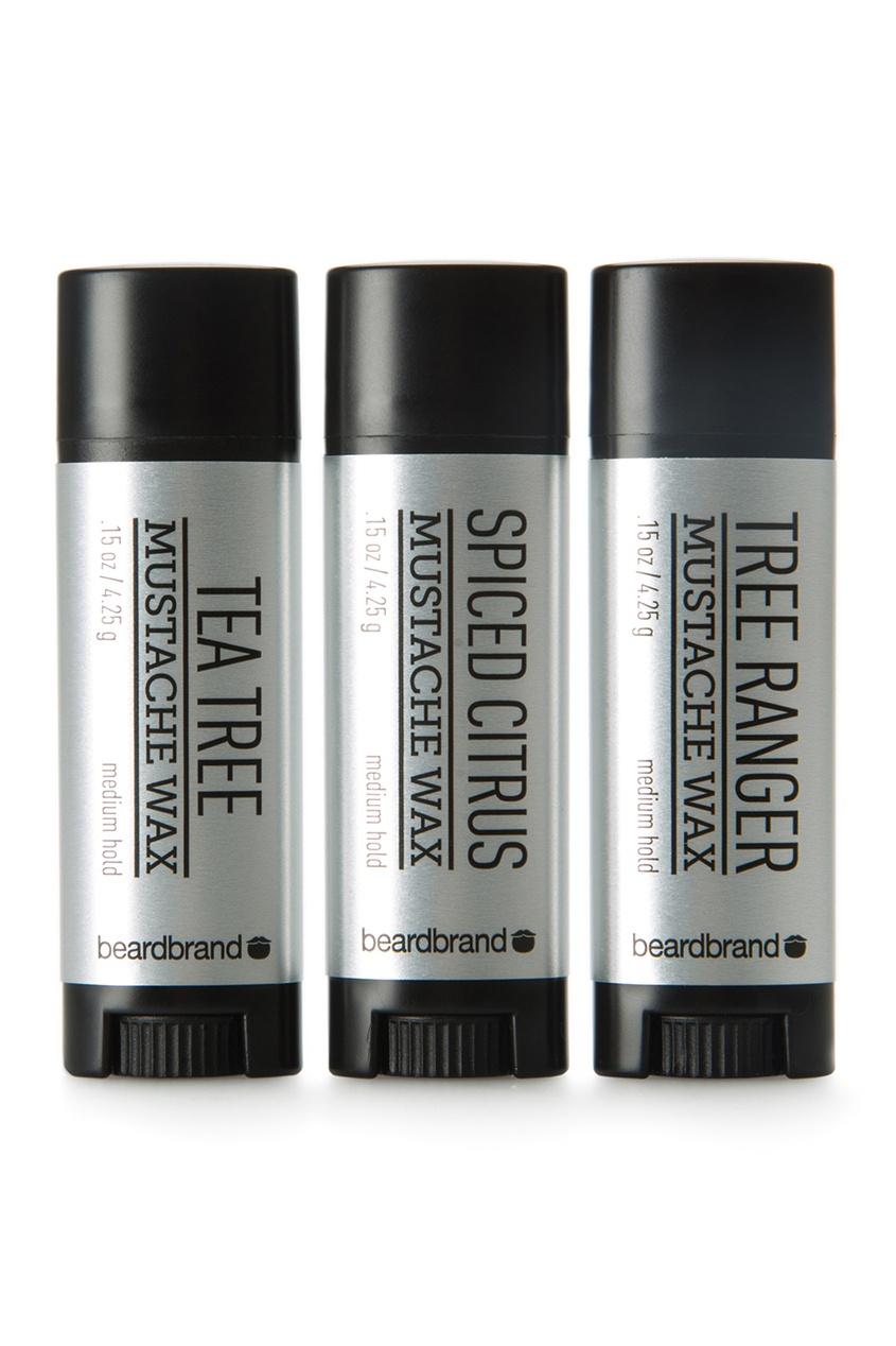 Набор воска для усов и бороды «Silver Label»