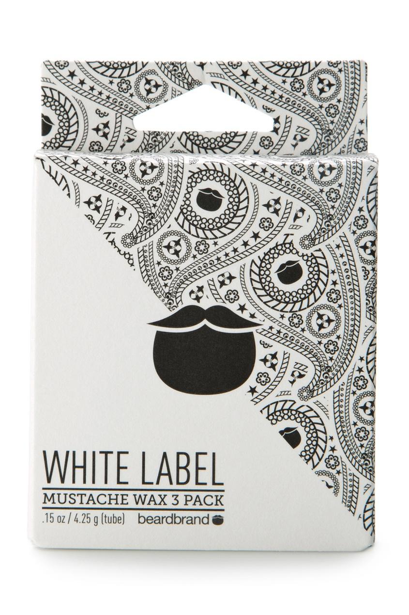 Набор воска для усов и бороды «White Label»