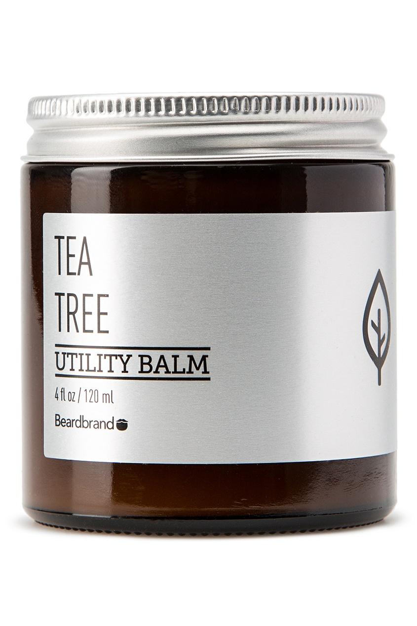 Beardbrand Бальзам для волос и бороды «Tea Tree», 120 ml beardbrand бальзам для волос и бороды old money 120 ml