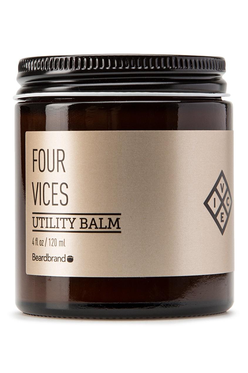 Beardbrand Бальзам для волос и бороды «Four Vices», 120 ml urban decay little vices набор little vices набор