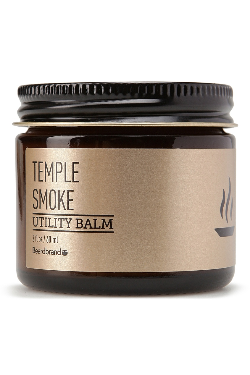 Beardbrand Бальзам для волос и бороды «Temple Smoke», 60 ml beardbrand бальзам для волос и бороды old money 120 ml