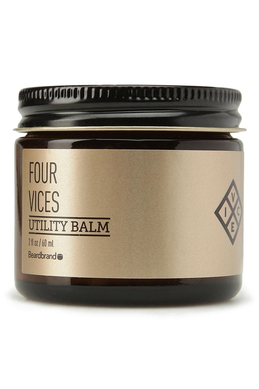 Beardbrand Бальзам для волос и бороды «Four Vices», 60 ml urban decay little vices набор little vices набор