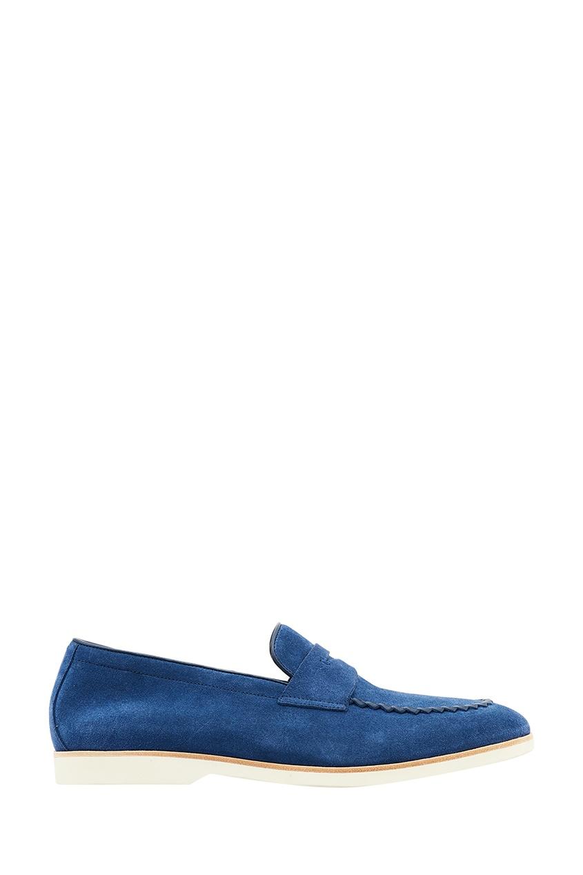 Canali Синие замшевые лоферы лоферы lauritta лоферы