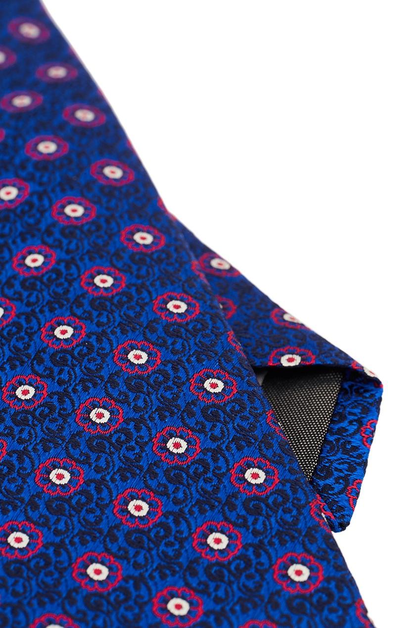 Canali Шелковый галстук с яркими цветами pollini галстук pollini
