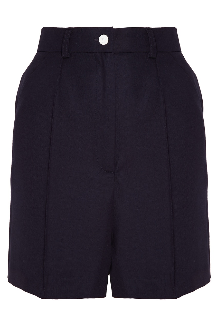 Natasha Zinko Шерстяные шорты natasha zinko укороченные шерстяные брюки