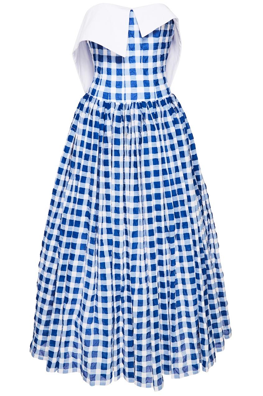Платье с открытым верхом