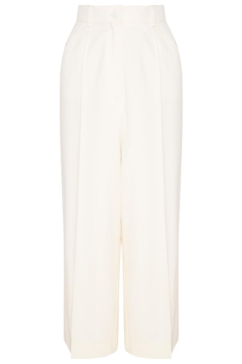 Natasha Zinko Укороченные шерстяные брюки брюки укороченные широкие phil