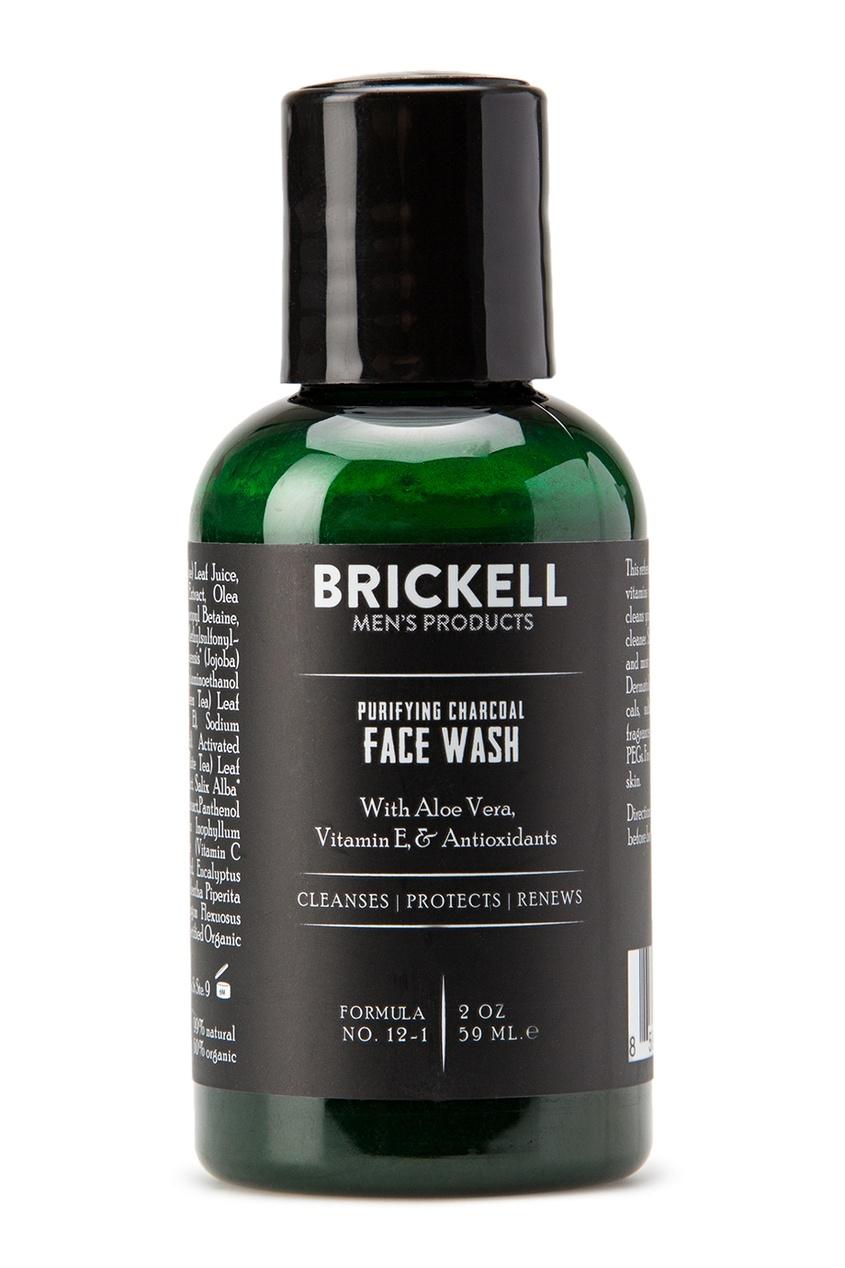 Brickell Средство для умывания с активированным углем, 59ml brickell скраб для лица 59 ml